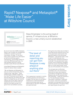 Wiltshire Council case study