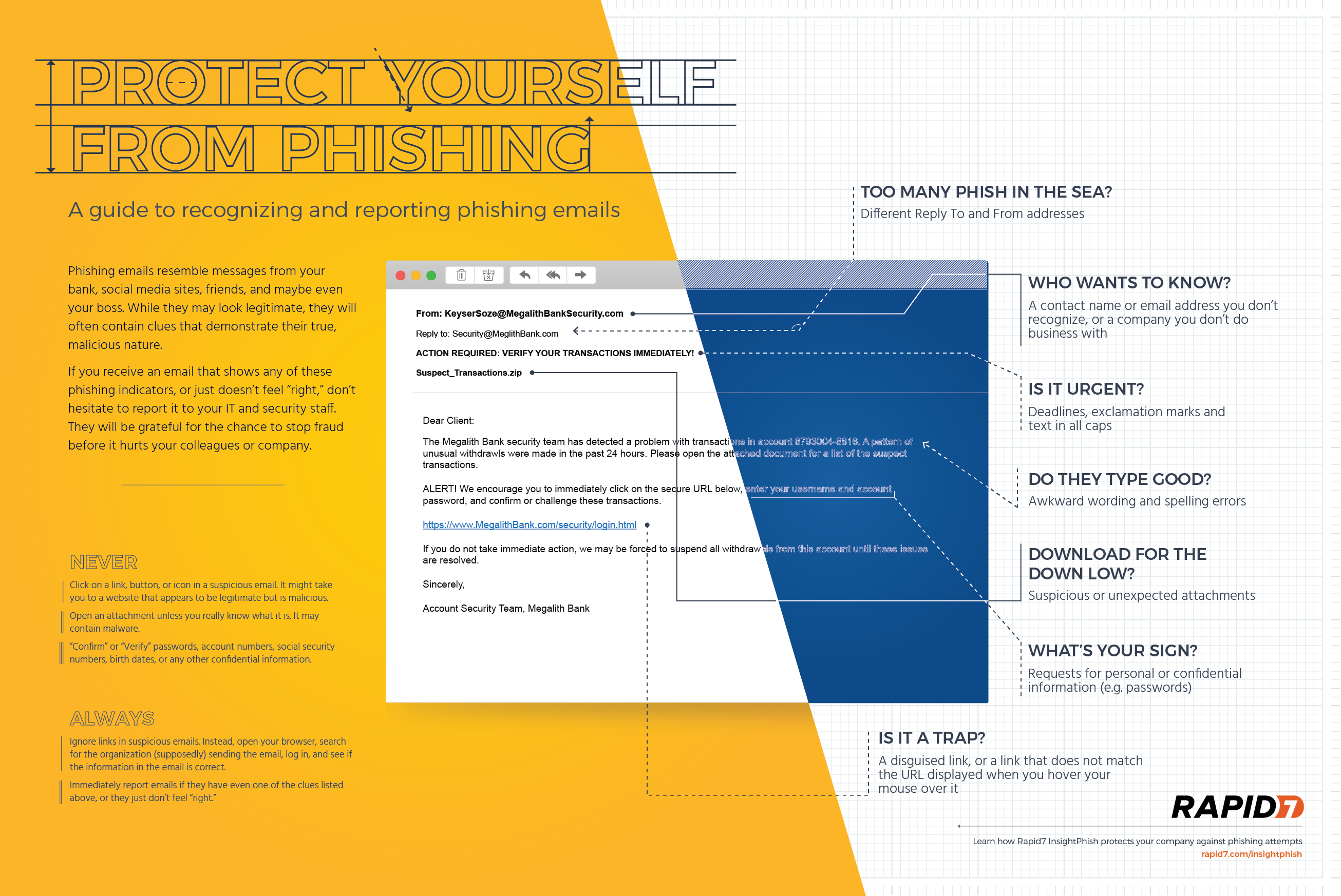 Rapid7 Infographic: Protect Yourself from Phishing
