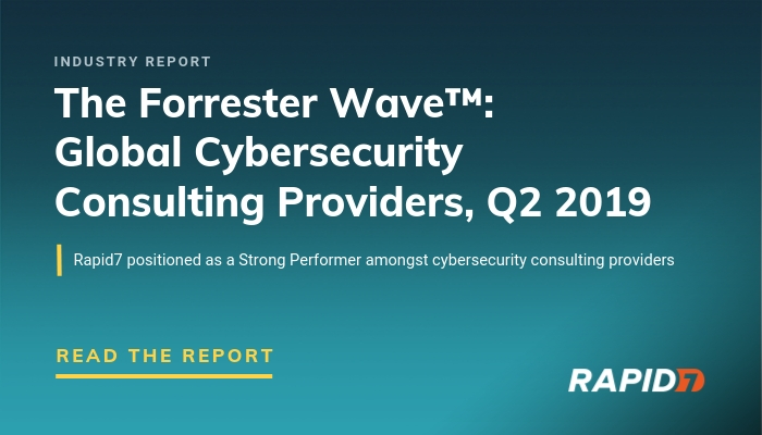 forrester wave for global cybersecurity consulting providers