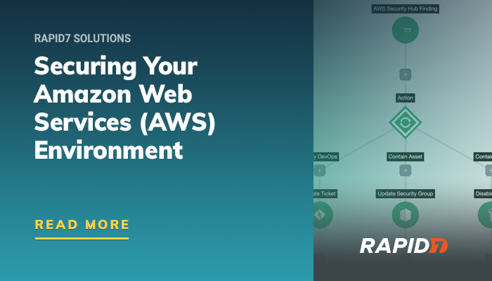 Securing Amazon Web Services (AWS) Infrastructure | Rapid7