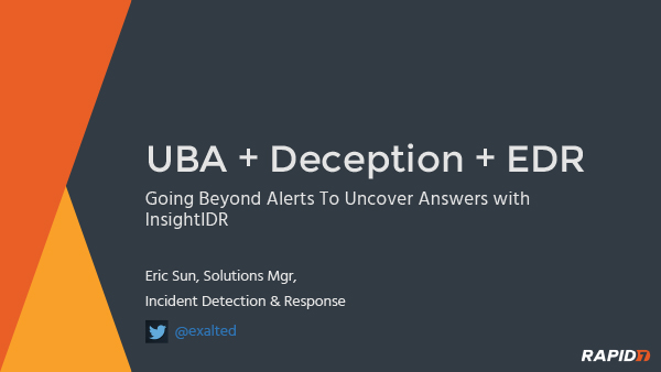 UBA Deception EDR Answers