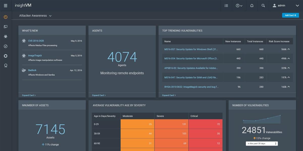 Rapid7 InsightVM Vulnerability Management