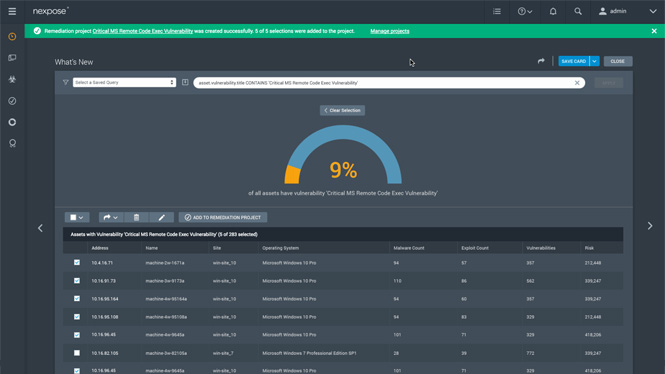 Top Rated Vulnerability Management Software Rapid7