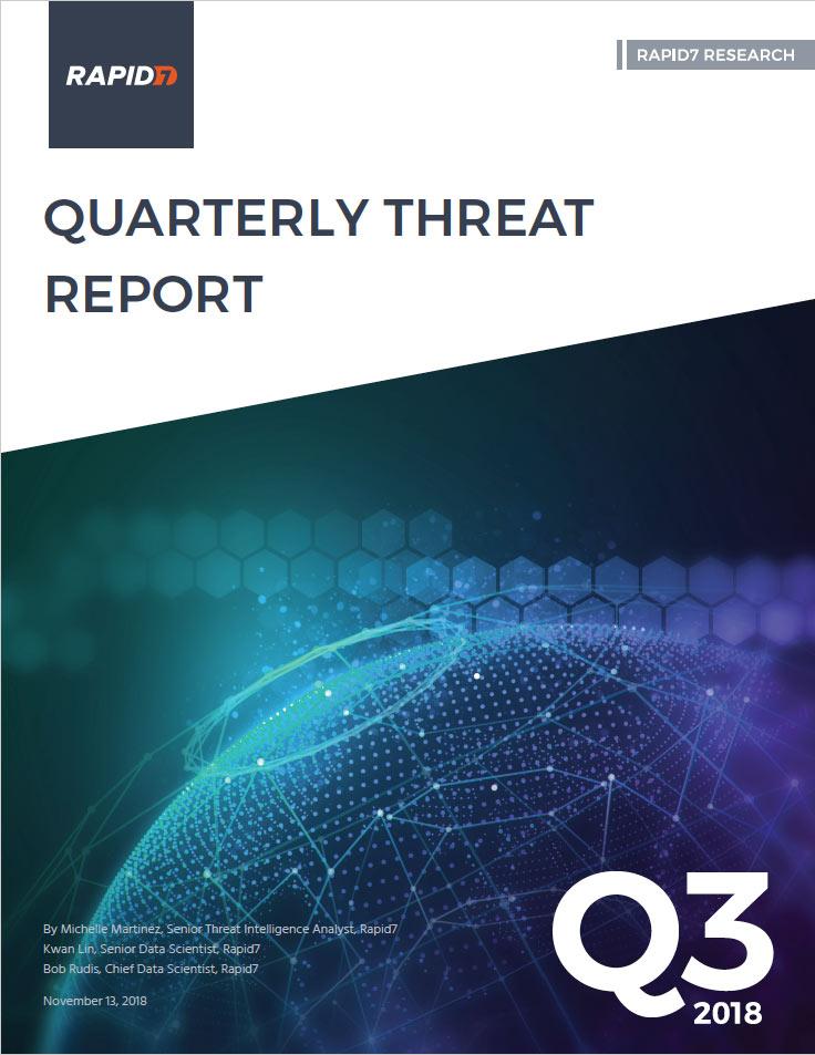 Rapid7 Threat Report: 2018 Q3