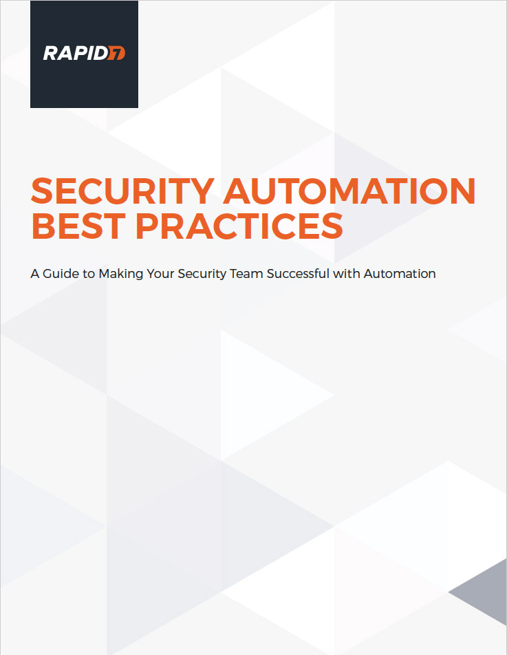 Security Automation Best Practices