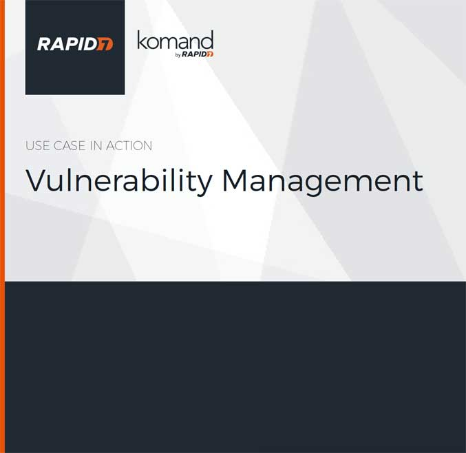 Use Case: Vulnerability Management