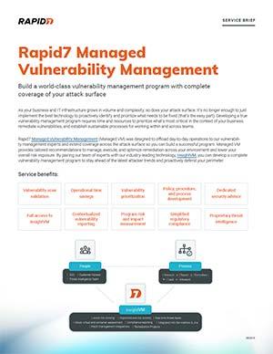 Vulnerability Management Scanning Services