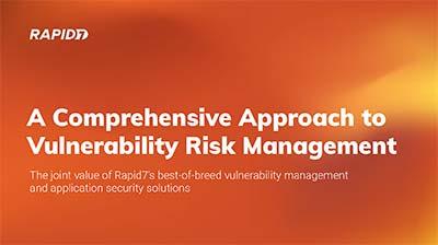 Sample Deck - Rapid7 Vulnerability Risk Management