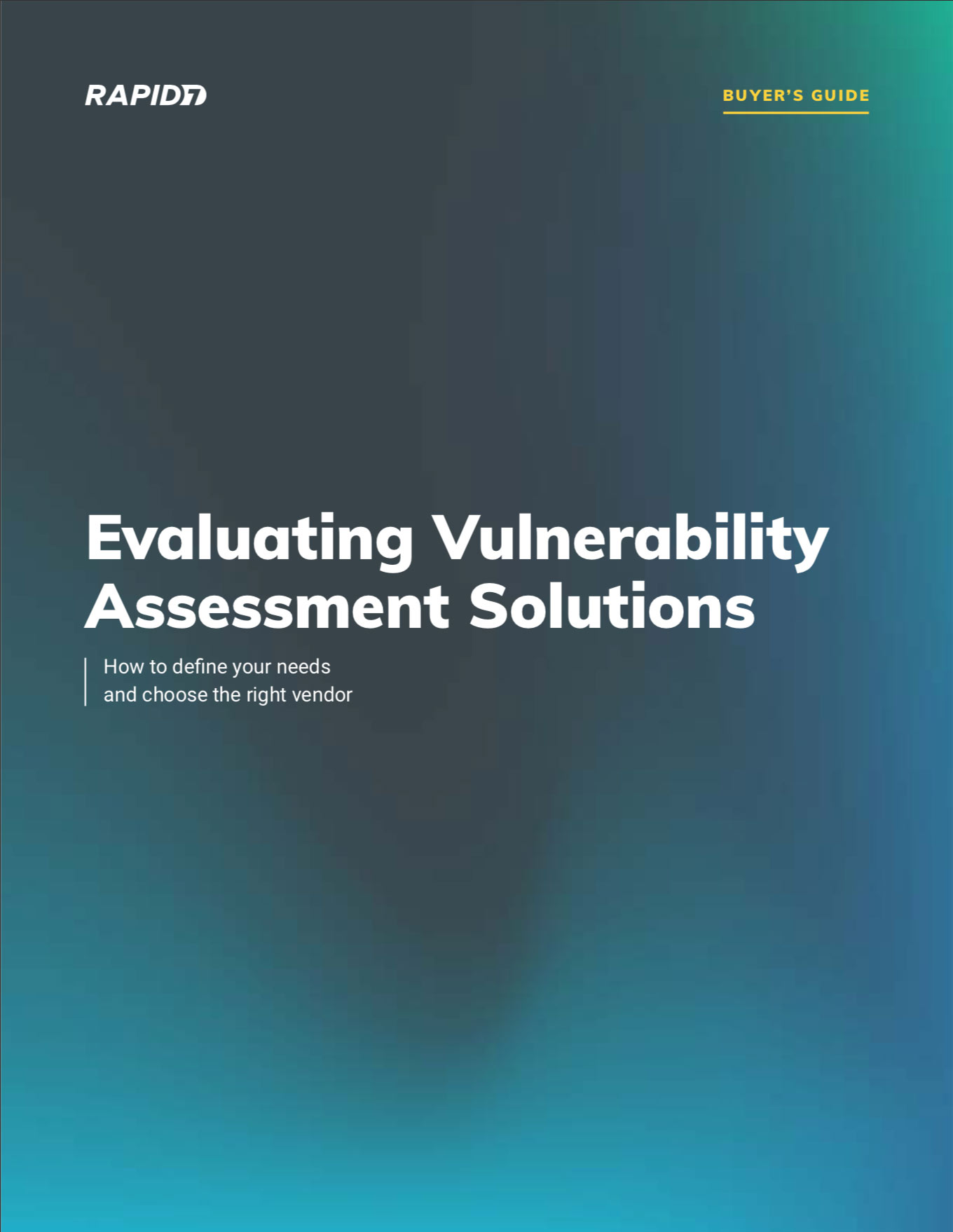 Rapid7 Vulnerability Assessment Buyer's Guide