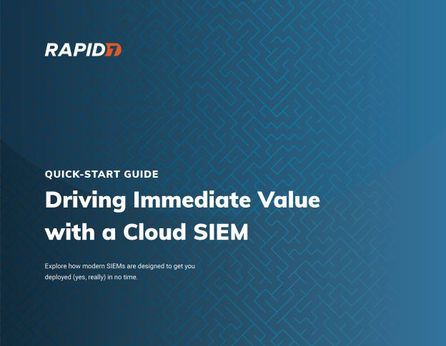 cover image of Quick-Start Guide to Deploying a Cloud SIEM ebook